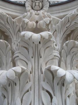 Acanthe sculpture