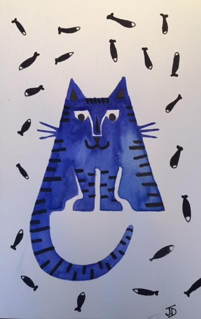 Chat bleu moi