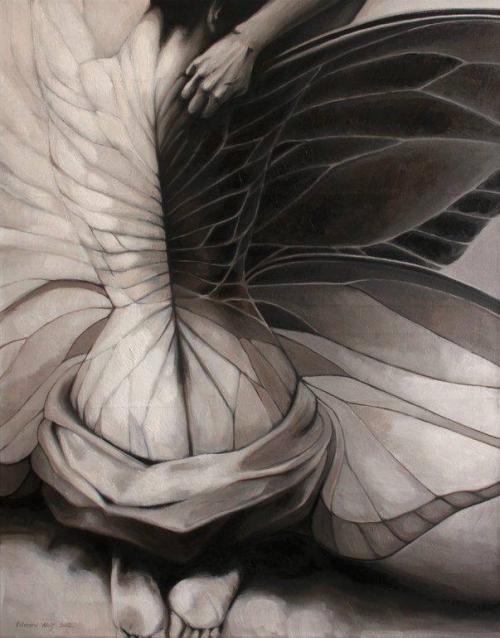 Femme libellule doris tesarkova oplova