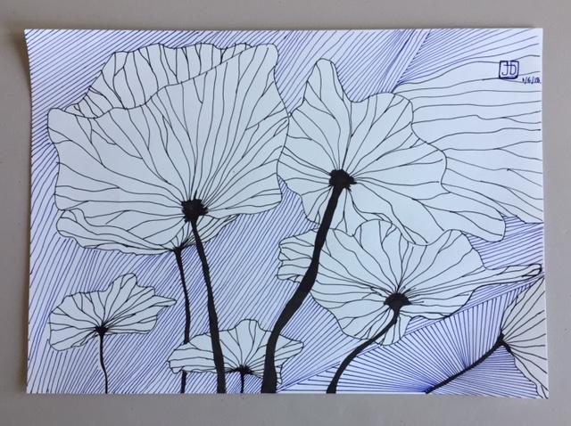 Feuilles lotus