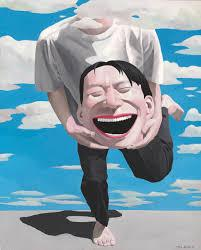 L homme qui rit yue minjun