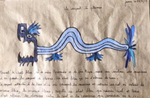 Le serpent a plumes