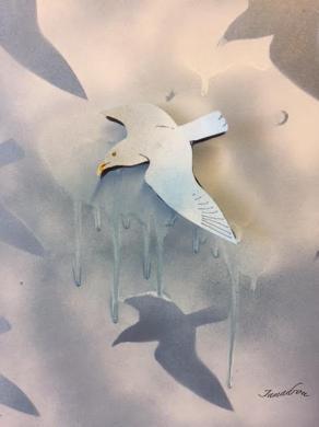 Les oiseaux bleus 2 signe