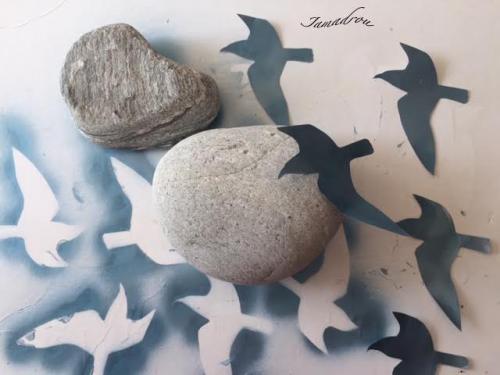 Les oiseaux bleus 3 signe