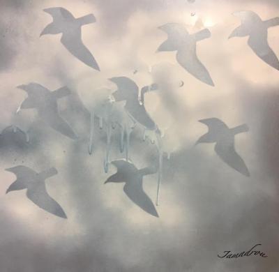 Les oiseaux bleus signe