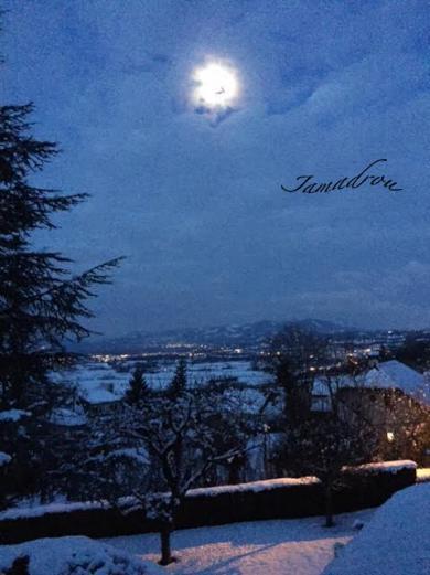 Lune neige