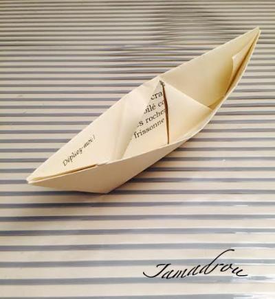 Un petit bateau de papier copie