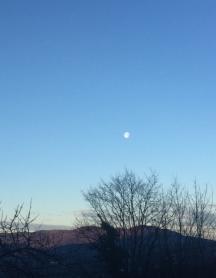 Vent froid du matin ouest